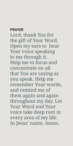 Prayer Scriptures, Prayer Quotes, Spiritual Quotes, True Quotes, Bible Quotes, Qoutes, Prayer Of Thanks, Prayer For Peace, Faith Prayer