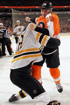 Rinaldo - As much as I hate the penalties... I love watching Rinny fight :)