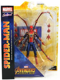 Spider-man Villain 9/'/' Marvel Select The Rhino Collector Edition Figure Gifts
