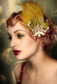 Showgirl hair piece