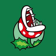 Check out this awesome 'Piranha+Plant' design on Super Mario Bros, Mundo Super Mario, Mario Sticker Star, Mario Video Game, Mario Tattoo, Cool Stencils, Adventure Time Wallpaper, Skateboard Deck Art, Graffiti Doodles