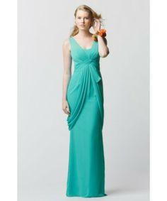 WTOO Watters 669 Bridesmaid Dresses Mermaid Side Drapes Detail