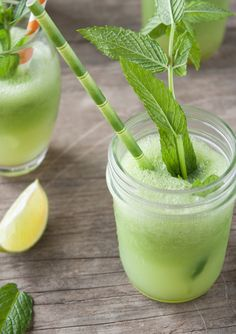 Cucumber-Lime Vodka Coolers