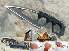 Miltner Adams MA-4/II 5.25 inch Tactical Knife