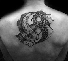 32 Best Yin Yang Koi Fish Forearm Tattoo images