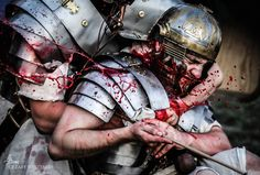 Saving miles Crassvs. Legio XXI Rapax - historical reenactment of Roman legions. Rekonstrukcja historyczna rzymskich legionów