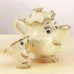 Mrs Potts and Chip Teapot