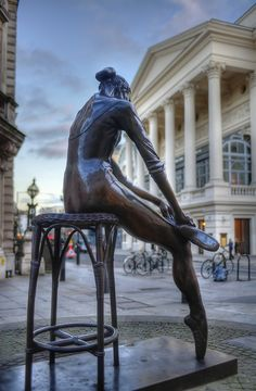 Check out this Bronze of a Ballet Dancer, next time you are in Covent Garden, London