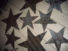 inspiration: Sheet Metal Stars (note: thinking of other options/designs in sheet metal...)