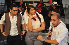 Albert Mena, Mariel Guerrero y Eduardo Santos en Divertido Con Jochy