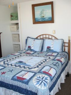 Boy Quilts, Cozy Bed, Bed And Breakfast, Maine, Comforters, Blanket, Furniture, Home Decor, Creature Comforts