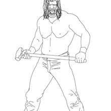 Kane Wwe Coloring Pages Wwe Coloring Pages Coloring Pages Kane Wwe