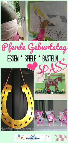 Pferde Kindergeburtstag Ideen So birthday party is fun! Great ideas for your party – there the kids have fun. Horse Birthday, Birthday Games, Birthday Parties, Birthday Ideas, Christmas Party Invitations, Birthday Invitations, Pony Party, Halloween Party Decor, For Your Party