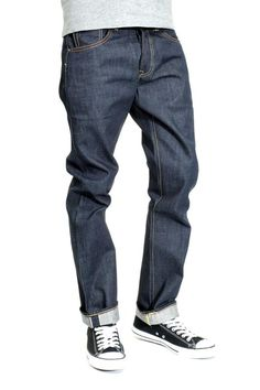 Levi 501 Raw Selvedge Shrink-To-Fit Mens Jeans - Long Day