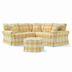 gingham ... love this site for furniture