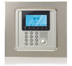 résidentiel domotique commande Centrale de gestion de temperature My Home Legrand
