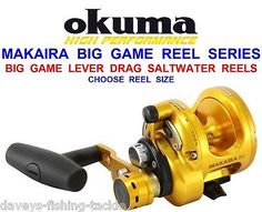 #Okuma makaira big game 2 #speed lever drag multiplier reel sea boat rod #fishing,  View more on the LINK: http://www.zeppy.io/product/gb/2/191699873380/