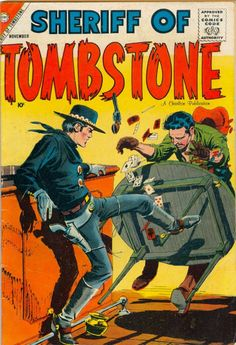 Comic Book Cover For Sheriff of Tombstone #1