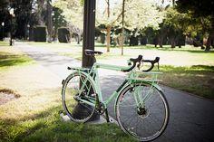 Handmade mint bike