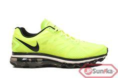 Nike Air Max+ 2012  Volt Black  (487982-701)