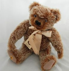 Vtg Merrythought Pure Mohair Teddy Bear Growler 18 inch Sgd B T Homes LE 47/1000 #Merrythought #AllOccasion