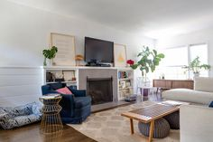 House Tour: A Modern Mash-Up in an Echo Park Bungalow | Apartment Therapy