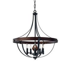 View the Feiss F2794/5 Alston 5 Light Single Tier Chandelier at LightingDirect.com.