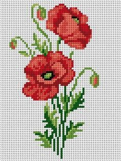 poppy account points, You can make really unique styles for materials with cross stitch. Cross stitch versions can almost amaze you. Cross stitch newcomers can make the versions they want without difficulty. Cross Stitch Freebies, Cross Stitch Bookmarks, Cross Stitch Rose, Cross Stitch Borders, Modern Cross Stitch, Cross Stitch Flowers, Cross Stitch Kits, Cross Stitch Charts, Cross Stitch Designs
