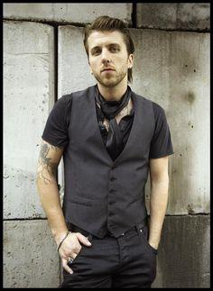 Neil Sanderson, drummer from Three Days Grace