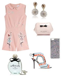 """Cirque-de-Sole!"" by destiny-chyanne-dallas on Polyvore featuring RED Valentino, Sophia Webster, Carolee, Ted Baker, Kate Spade and J.Crew"