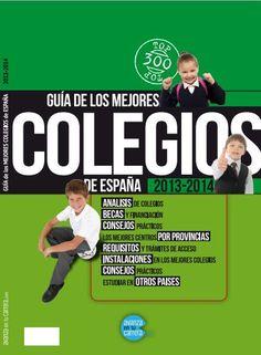 La guía de los mejores colegios de España ya está disponible online #formación
