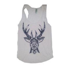 deer tank top <3