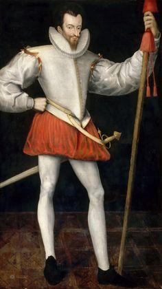 FRANCOIS DE LORRAINE, DUC DE GUISE, DIT LE BALAFRE. Période création/exécution, 16e siècle. Lieu de conservation, Chantilly ; musée Condé.