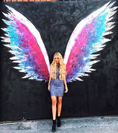 CA – Global Angel Wings Project by Colette Miller. This one's located at the Arts District Co-op, 453 Colyton St.@ E. 5th St. in the Arts District. There are other Colette Miller wings murals in LA as well as all around the world. Btw, that's Madeleine, a German lifestyle blogger @ pilotmadeleine. https://www.google.ca/maps/place/Arts+District+Co-op/@34.0419113,-118.2451458,15z/data=!4m5!3m4!1s0x80c2c63b9eda7a07:0xd344c56d665ec47!8m2!3d34.0419069!4d-118.2363911