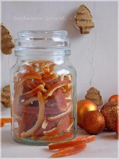 ...konyhán innen - kerten túl...: Kandírozott fűszeres narancshéj