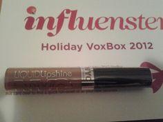 NYC Liquid LipShine #influenster #holidayvoxbox