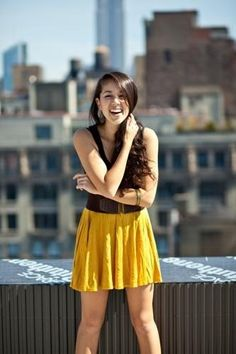 I almost got the same dress! Only mine has a lace top. :) Kina Grannis, Drop Dead Gorgeous, Youtubers, Beautiful People, Punk, Summer Dresses, Musicians, Lady, Pretty