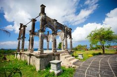 Fotka, Foto Vodní zahrada Tirtagangga na Bali (Indonésie)
