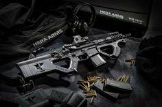 Hera arms CQR stock & CQR front grip