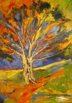 expressionist tree paintings - Google Search