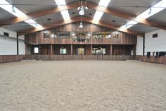 Indoor arena @ Stephex Stables