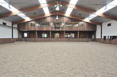 Indoor arena @ Stephex Stables