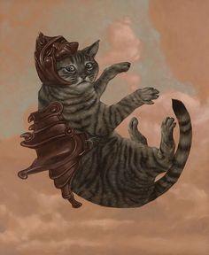 "Casey Wheldon ""Feline Aerodynamics"""