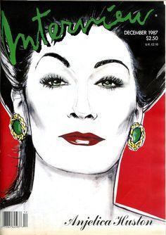 Anjelica Huston. Interview magazine
