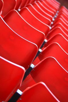 Red Chairs by Kathryn Firth