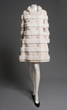 textural stripes...  Coat  Emanuel Ungaro, 1969  The Philadelphia Museum of Art