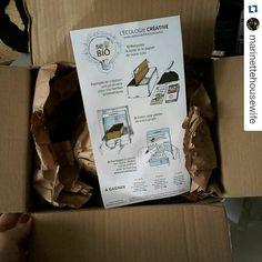 Vous allez le faire ? :) #Repost @marinettehousewife with @repostapp  Bravo @sebiobelgium! Quelle bonne idée. Justement c'est le moment de préparer les semis.  #sebio #sebiobelgium #ecologie #reutilisable #colis #semis