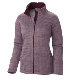 856cc2b05574d Columbia - Optic Got It™ III Herringbone Jacket - Polaire - bordeaux -  1934447
