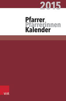 Pfarrerkalender/Pfarrerinnenkalender 2015