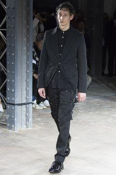 Comme des Garçons Homme Plus Fall 2016 Menswear Fashion Show